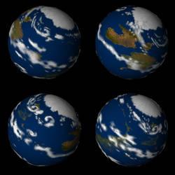 Epona Globe 4views by StevenHanly