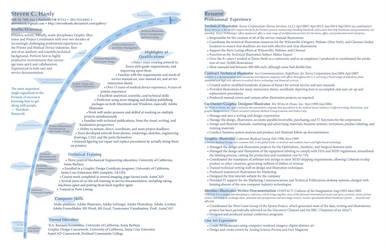 Steven's Resume2014 by StevenHanly