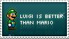 Luigi Stamp by mushir