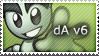 dA v6 Stamp by mushir