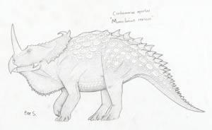 Centrosaurus by Pterosaur-Freak