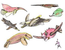 The Future Gets Wilder: Mertles by Pterosaur-Freak