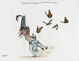 Draw Dinovember day 22 ~ Tupandactylus navigans by Pterosaur-Freak