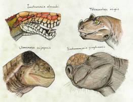 On Therapsid Integument by Pterosaur-Freak