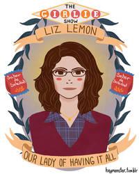 Liz Lemon by theblamelessflame