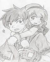 Surprise Hug by foresteronly