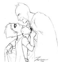 Batman and Robin Yaoi by Tyrus-San