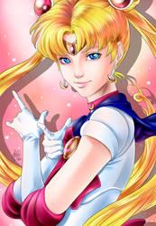 Artgerm contest: Sailormoon by lauralaima