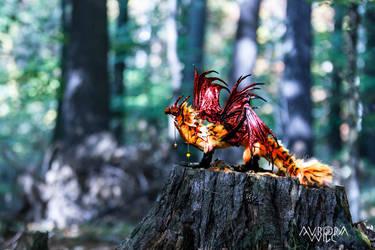 Dhaka the Lava Dragon by aurorawilc