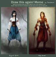 Draw This Again! Meme: Whips by Panikawa by panikawa