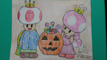 Toad And Toadette's Halloween Special! by Sonic1612