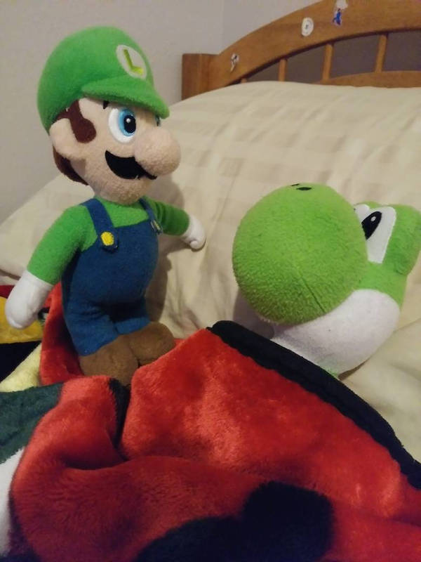 Tell Yoshi A Bedtime Story! by Sonic1612