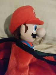 Mario Sleeping. by Sonic1612