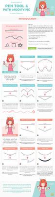 Pen Tool Teeny Guide by honeyburger