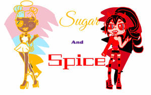 Sugar and spice (crystal-sushis style)now by Nidaerisdraws