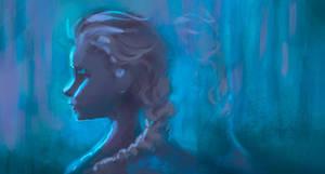 Elsa Speedpaint by winderly