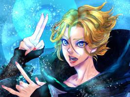Sypha (Castlevania Netflix Ver.) by colinky-X