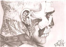 Rick Genest II by lesyaschmetterling