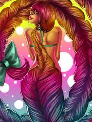 Braid mermaid by Lambii