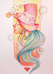 Bubbly Hat by Lambii