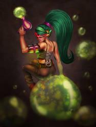 Poisonous Bubbles by Lambii