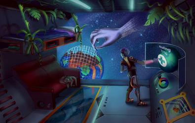 Planet Healer by Lambii