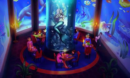 Aqua Restaurant by Lambii