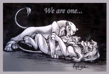 We are one by OmegaLioness
