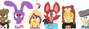 Five Nights At Markiplier's by Cookie-and-her-foxes