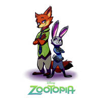Zootopia Redraw by Cookie-and-her-foxes