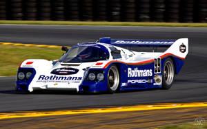 Porsche 962 At Daytona by NC-Photography