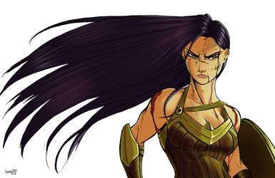 Diana of Themyscira by SycrosD4