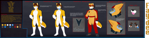 [Design] Faydee Fox by Solar-Paragon