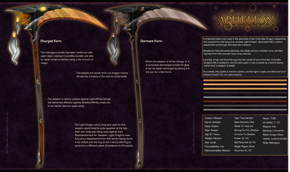 [Design] Weapon - Aphelion by Solar-Paragon