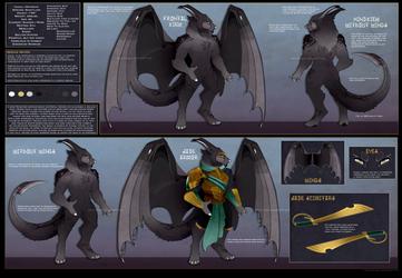 [Design] Keyword Result - Wyldhound Warrior by Solar-Paragon