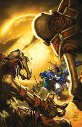 warcraft:Ashbringer 2 Cover by Tonywash