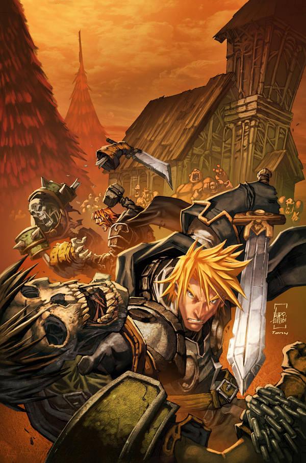 warcraft:Ashbringer 4 Cover by Tonywash
