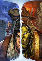 World of Warcraft 16 cover by Tonywash
