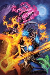 Warcraft Alliance Poster by Tonywash