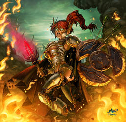 Warcraft: Hero Blood Elf by Tonywash