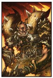World of Warcraft Garrosh by Tonywash