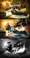 Game Concept Art 2009 by Tonywash