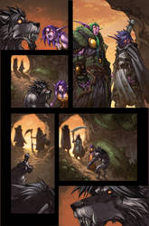 WoW Curse of the Worgen 5 pg03 by Tonywash