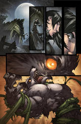 WoW Curse of the Worgen 5 pg01 by Tonywash