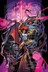 POWERCON/THUNDERCON 2012 Thundercats Poster by Tonywash