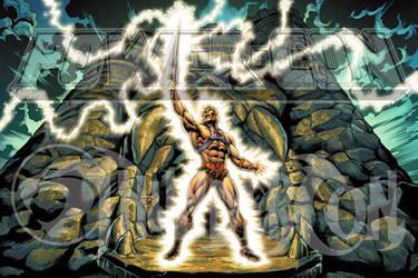 POWERCON/THUNDERCON 2012 He-Man Poster by Tonywash