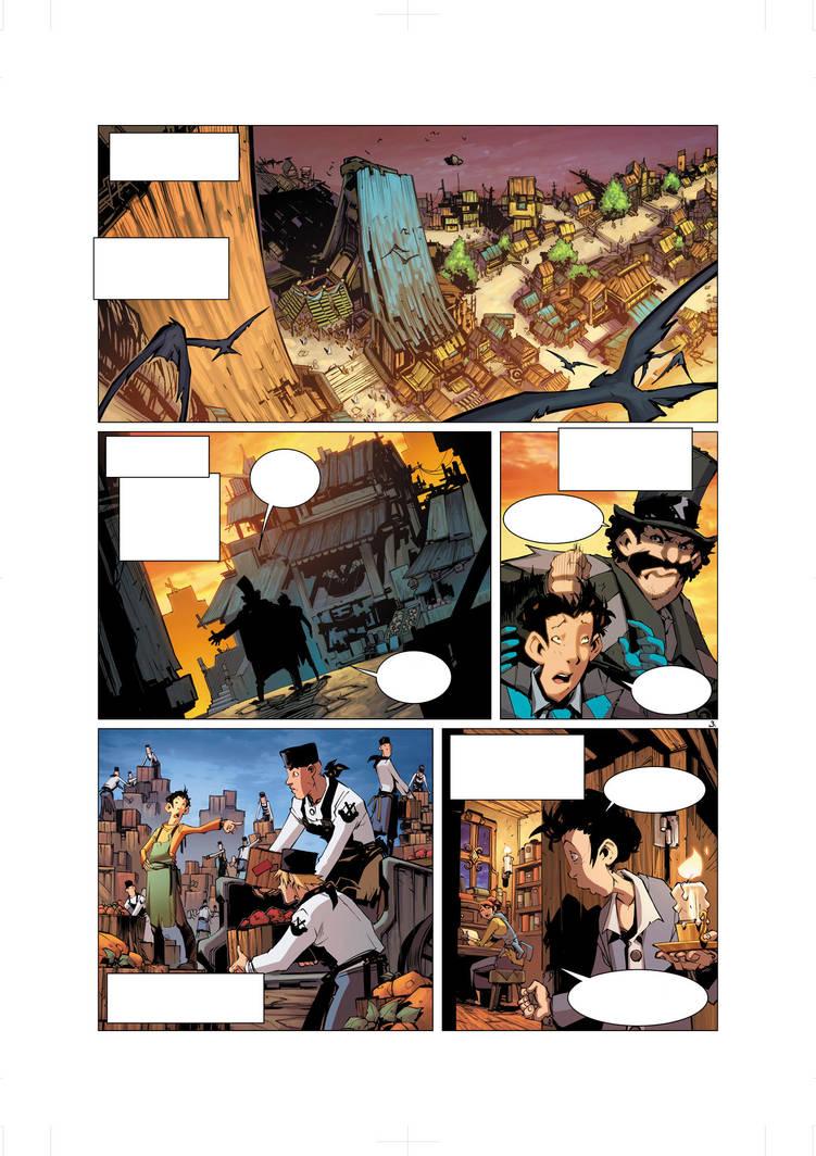 Elyne Volume 1 Pg 3 by Tonywash