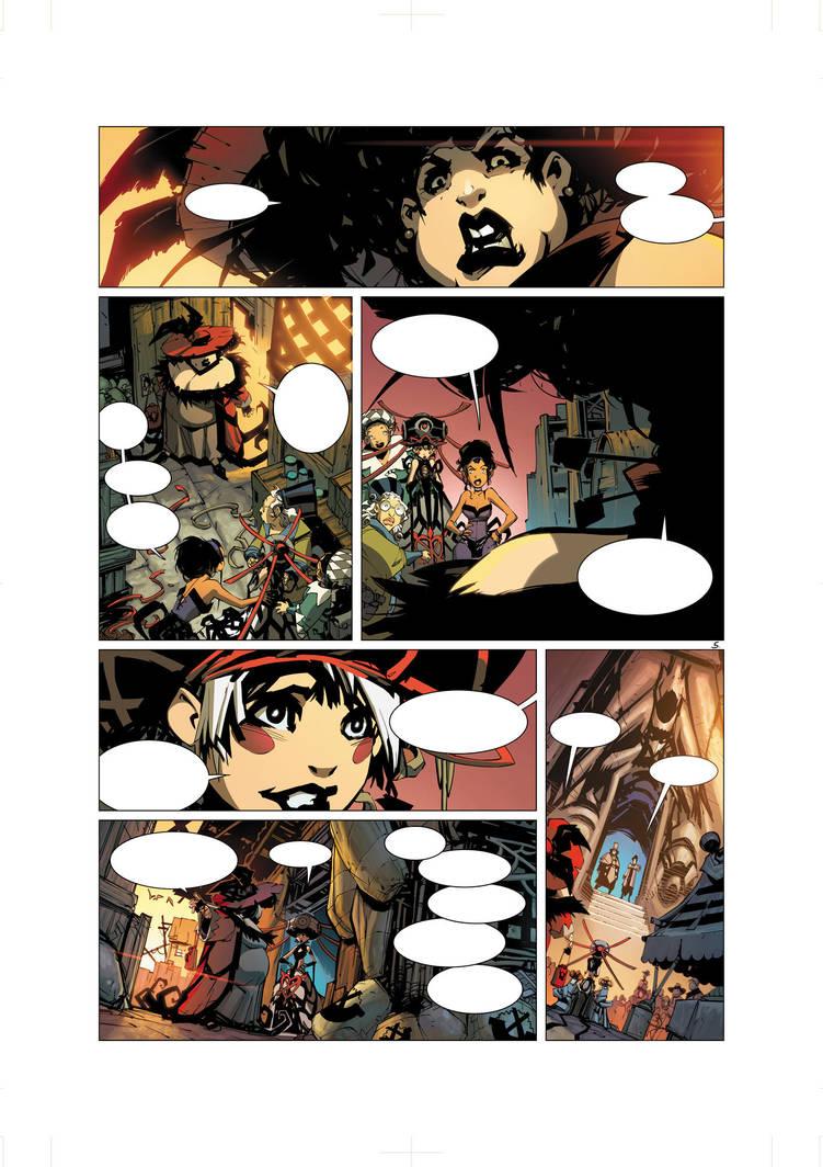 Elyne Volume 1 Pg 5 by Tonywash