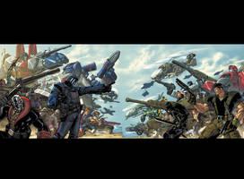 Transformers GI Joe Cover by Tonywash