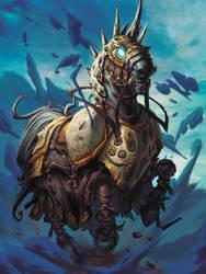 Hearthstone - Armored Warhorse by Tonywash
